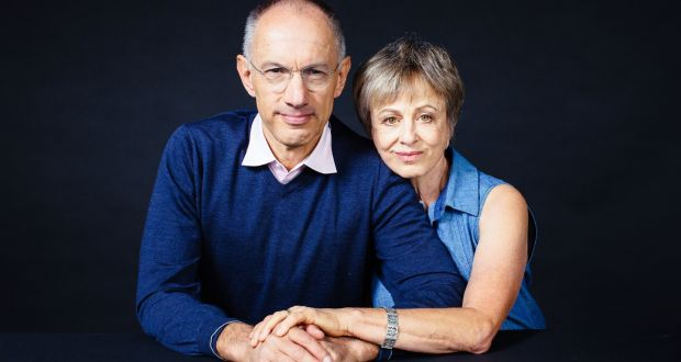Michael Moritz és Harriet Heyman. Fotó: Elena Zhukova/Booker Prize/PA Wire