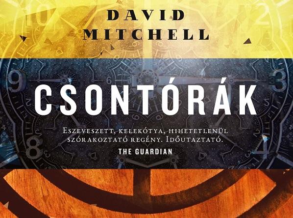 David Mitchell: Csontórák (Európa Könyvkiadó, 2019)