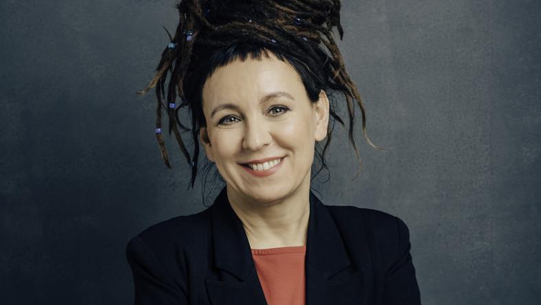 Olga Tokarczuk (fotó: Łukasz Giza)