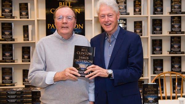 James Patterson és Bill Clinton az első közös thrillerükkel