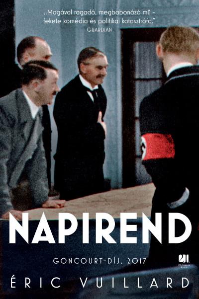 Éric Vuillard: Napirend (21. Század, 2020)