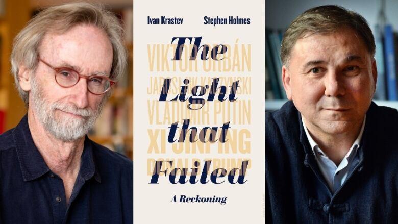 A szerzőpáros és a Lionel Gelber-díjas könyv angol borítója